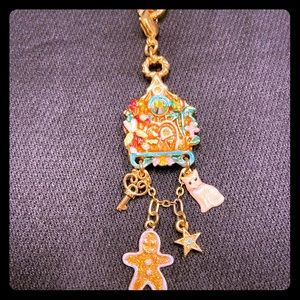 Kirks Folly Gingerbread House Necklace